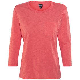 Patagonia Mainstay 3/4 Sleeved Top Women Carve Coral